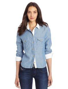 DIESEL Diesel Women'S Shovin Shirt. #diesel #cloth #
