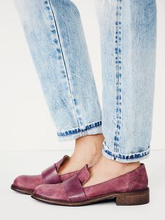 Faryl Robin + Free People Kira Slip On Loafer at Free People Clothing Boutique