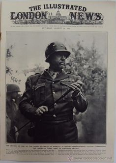 THE ILLUSTRATED LONDON NEWS. (EN INGLES), II GUERRA MUNDIAL. 26 AGOSTO 1944.