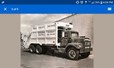 Brockway garbage truck Dump Truck, Tow Truck, Trucks, Rubbish Truck, Heavy Construction Equipment, Logging Equipment, Garbage Truck, Classic, Derby