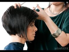 Cute and Sexy Hair Cut - Modern Short Haircut Tutorial - YouTube