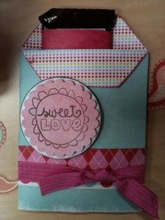 Another cute candy bar wrapper idea