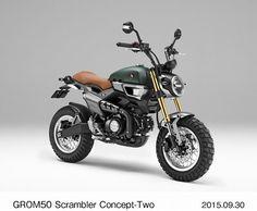 GROM50 Scrambler Concept-One=ホンダ提供