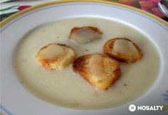 Soup Recipes, Cake Recipes, Hungarian Recipes, Hungarian Food, Nom Nom, Bacon, Food And Drink, Eggs, Yummy Food