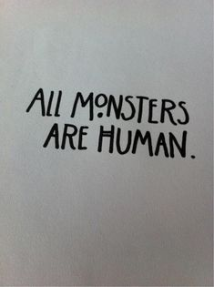 american horror story quotes | american horror story quote Black and White text horror dark Monsters ...