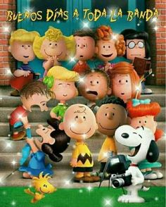 Snoopy y Charlie Brown buenos días 4 Good Morning Messages Friends, Good Morning Greetings, Good Morning Good Night, Goodnight Snoopy, Snoopy Birthday, Snoopy Wallpaper, Iphone Wallpaper, Snoopy Pictures, Funny Spanish Memes