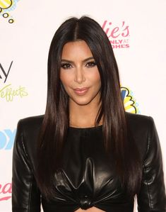 Kim Kardashian's violet-infused hair color