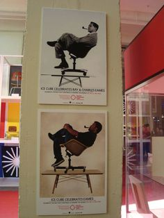 Here's Ice Cube Recreating an Old Charles Eames Photo