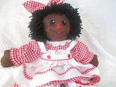 Handmade 20 African American Raggedy Ann Doll made by JodisDolls
