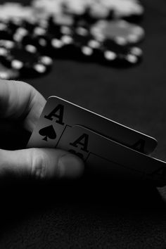 Aces. #poker #cards #gambling #photography