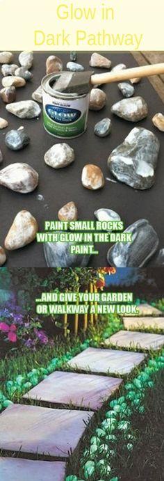 Glow in Dark Pathway (DIY)