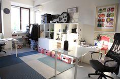 Corner Desk, Loft, Bed, Furniture, Home Decor, Corner Table, Decoration Home, Stream Bed, Room Decor