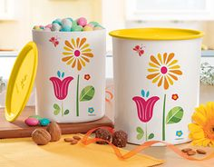 """Check out new work on my @Behance portfolio: """"Etiquetas Set Floral Tupperware"""" http://on.be.net/1iw6Rz7"""
