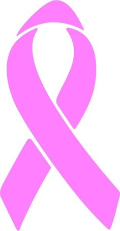 cancer ribbon cut out and use as stencil also make size bigger or rh pinterest com pink ribbon clip art photos pink ribbon clip art black and white