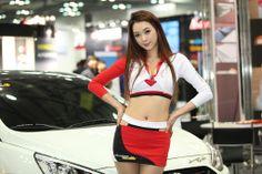 ♥ Joo Daha @ 2014 Automotive Week