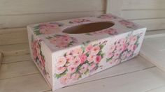 Items similar to Vintage rose tissue holder on Etsy Vintage Roses, Tissue Holders, Decorative Boxes, Etsy, Unique Jewelry, Handmade Gifts, Home Decor, Products, Kid Craft Gifts