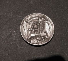 Hobo Nickel Coin One Way Ticket on The Southern Rail Skeleton | eBay