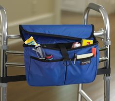 Wheelchair Bags, Cups, Etc. - Wheelchair and Walker Bags and Accessories - Accessories Adaptive Clothing for Seniors, Disabled & Elderly Care Sensory Rooms, Sensory Activities, Walker Accessories, Wheelchair Accessories, Adaptive Equipment, Health Education, Physical Education, Team Building Activities, Elderly Care