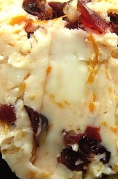Drunken Cranberry Orange Compound Butter | The Hungry Mouse
