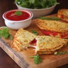 Ketogenic Diet Recipes – Cauliflower Crust Calzone recipe #ketogenicdiet #lowcarbs #lchf | Look around!