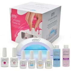 Complete Gel Polish Starter Kit by Gelish #nails