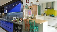 Pops of color and quirky details breathe life into this space