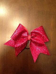 Sparkly cheer bow  by MadCheerBowtique on Etsy, $12.00
