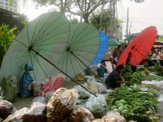 Burmese Friday Market in Chiang Mai, Thailand