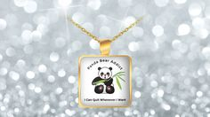 * JUST RELEASED *If you love pandas you will love this funny panda bear necklace.  This awesome Panda bear necklace is the perfect gift idea for Panda lovers. If you or someone you know loves pandas then this  themed design is just for you.Great gift for every animal lover.     ))) https://www.gearbubble.com/panda-addict-neclace