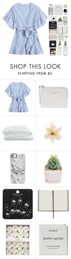 """in the middle of the night, in my dreams you should see the things we do, baby"" by rosalataieck ❤ liked on Polyvore featuring The Webster, Crate and Barrel, Butter London, Clips, Nikon, Casetify, Topshop and Byredo"