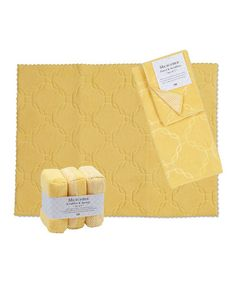 Another great find on #zulily! Buttercup Wash & Dry Set by Design Imports #zulilyfinds