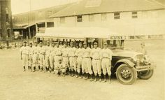 1936 negro league team from Cincinnati Tigers at Crosley Field     Cincinnati, Ohio  Cincinnati Reds, red legs, red stockings