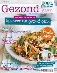 3x Gezond Eten € 12,50: Lekker en toch bewust koken en eten, dat kan. Gezond Eten laat het iedere maand opnieuw zien aan de hand van talrijke recepten, handige tips en weetjes over voedsel.