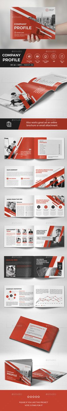 Corporate Brochure Company Profile 1 u2026 Pinteresu2026 - landscape brochure