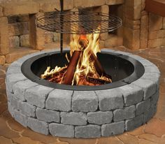 Enhance your outdoor events with the Belgian Wedge Fire Ring. Made with Belgian Wall Blocks, this fashionable fire pit provides you with quirky character and supreme comfort.