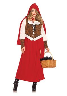 Woodland Red Riding Hood Costume - Little Red Riding Hood