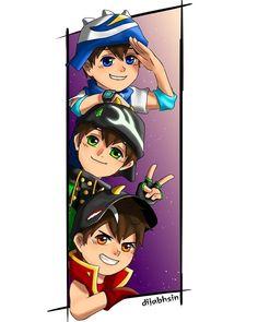 Galaxy Movie, Anime Galaxy, Boboiboy Galaxy, Boboiboy Anime, Anime Art, Troble Maker, My Childhood Friend, 3d Animation, Cute Art