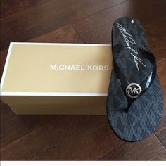 Michael kors flip flops ❗️restocked ❗️ Brand new pair of flip flops with box . ❗️final price ❗️ no further offers or bundle discounts ❗️ Michael Kors Shoes Slippers