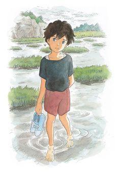 when marnie was there: left me in tears, so gooood Film Manga, Anime Films, Studio Ghibli Art, Studio Ghibli Movies, Hayao Miyazaki, Erinnerungen An Marnie, Personajes Studio Ghibli, When Marnie Was There, Japanese Animated Movies