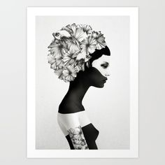 Buy Marianna Art Print by Ruben Ireland. Worldwide shipping available at Society6.com. Just one of millions of high quality products available.