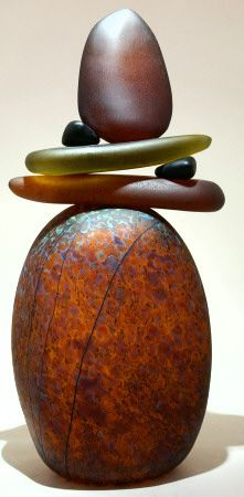 Art Glass Sculpture from Kela's....♀️♀️♀️More Pins Like This At FOSTERGINGER @ Pinterest ♂️
