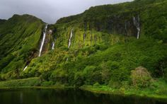 Waterfalls Of The Azores