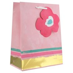 c0141c425 Pink & Gold Distressed Gift Bag - Spritz™ : Target Gift Packaging, Pink And