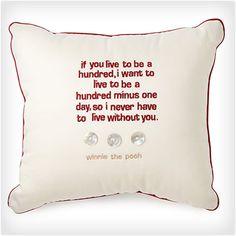 Organic Cotton Pooh Pillow