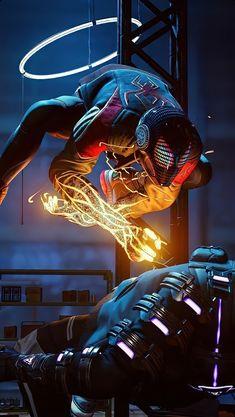 Comics Spiderman, Avengers Cartoon, Black Spiderman, Spiderman Spider, Amazing Spiderman, Deadpool Wallpaper, Avengers Wallpaper, Marvel Lights, Siper Man