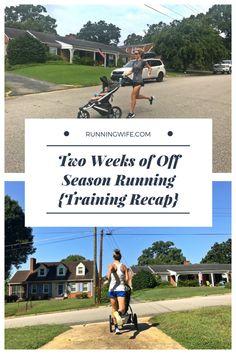 Two Weeks of Off Season Running {Training Recap} http://www.runningwife.com/2017/08/two-weeks-of-off-season-running-training-recap/