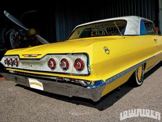 lrmp_1101_01_o-1963_chevy_impala-rear_view3 Chevrolet Impala 1963, Chevrolet Usa, Chevrolet Corvette, 64 Impala, Chevy Impala Ss, Lowrider, Used Classic Cars, National Car, Classic Car Restoration