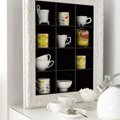 smart inspiration cd storage cases. House shaped shadow box  docrafts com ME Collection of Teapots etc Pinterest Shadow and Box