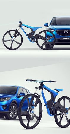 MAZDA X-bike by karol mizdrak