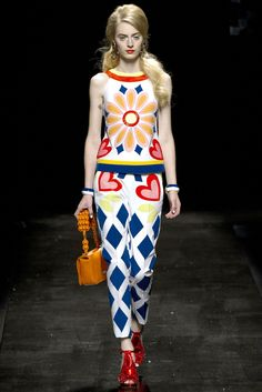 Moschino Spring 2013 Ready-to-Wear Collection Slideshow on Style.com